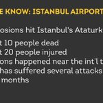 Turkeys justice minister just confirmed the attack on Istanbuls largest airport. Heres what we know so far: https://t.co/EI77leZUub