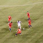 Esta foto la saco un amigo en el estadio, que carajo quieren que haga Messi? El tipo juega no hace milagros. https://t.co/gSFyZB82wA
