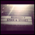 Stixx & Stones playing an acoustic set at Martini Bar Wednesday night! #humpday #summer #martinis https://t.co/vKBusc1OLS