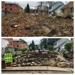 Amazing before / after photo of a #LoveYourBlock project in #Boston. City Hall and volunteers transformed this lot! https://t.co/qUbEwI0Zhe
