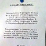 En #Madrid los trabajadores/as de la #sanidadpublica lo tienen claro! Ahora los q han votado a ladrones q se callen! https://t.co/jgqAx3jvWp