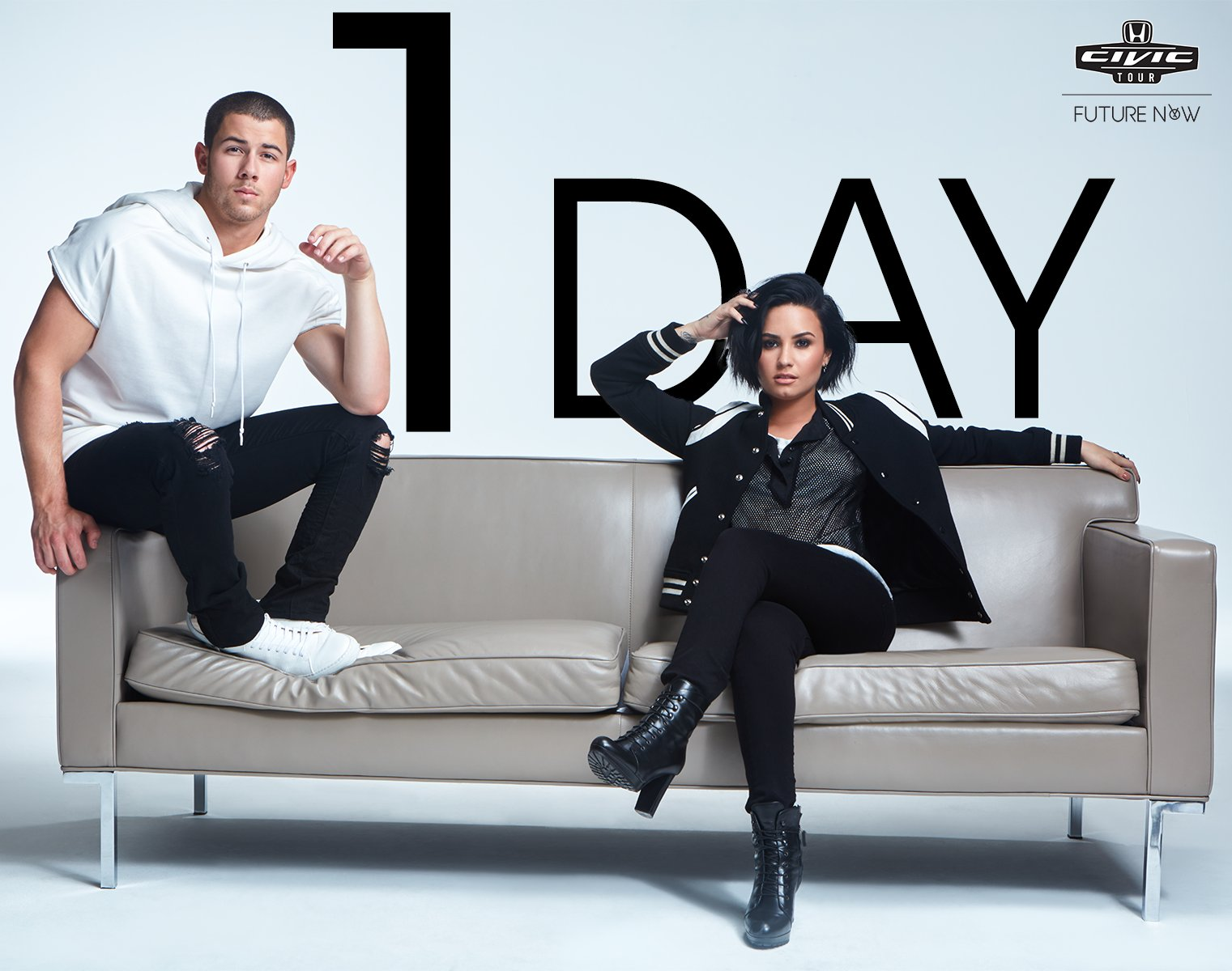 1 day before @PhilyMack's @DDLovato & @NickJonas kick off #FutureNowTour! Have your tix yet? https://t.co/lhPA7Wanzk https://t.co/2fUm2NibIT