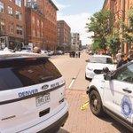 SCENE at 15th & Wazee as officers investigate shots fired in 1500 block of Wynkoop. #Denver https://t.co/Zh7RkinKSN