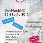"GovHack - get involved and make #chch a ""smart and healthy city"" https://t.co/gDB0tlGaFl https://t.co/9OAAytugId"