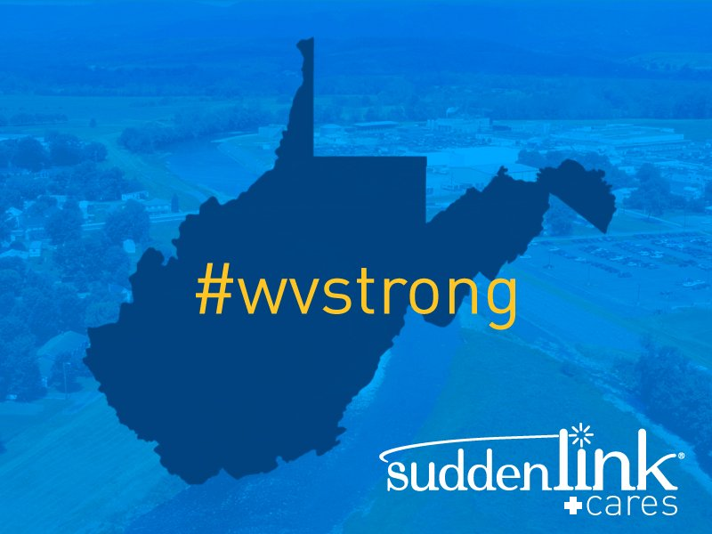 We're heartbroken by the flooding in West Virginia and are working to serve our communities. #wvstrong https://t.co/QRMULsI3H6