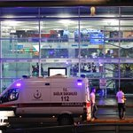 Photos from the scene after terror attack at #Istanbuls airport https://t.co/yuZ2OeLJux https://t.co/WX4O32FwSx