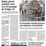 #EnPortada Mañana en la portada de @el_pais https://t.co/RCZwEssNHO