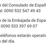 Tras los atentados de Estambul @MAECgob ha habilitado dos teléfonos de emergencia para los españoles afectados https://t.co/9VNw9KXsiJ