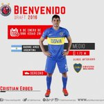 Cristian Erbes se integra a @ClubTiburones para el A-2016 #NacíTiburón NOTA:https://t.co/ubsSM0d9LW https://t.co/nNAqClAAxO