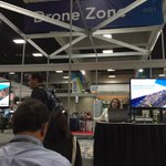 Sarah Schwoppe demos #Drone2Map to a full house at Drone Zone #EsriUC Demos every 30 mins! https://t.co/P3HDBPPaQc