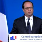 """VIDEO - Hollande """"condamne fermement"""" lattentat dIstanbul, un """"acte abominable"""" https://t.co/dF6e7qscbE https://t.co/QsRDcxPBuR"""