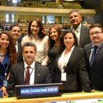 #Bolivia es miembro no permanente del Consejo de Seguridad de la #ONU. Otro resultado del liderazgo de @evoespueblo https://t.co/YYoJPeKZxm