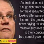 Corp welfare is sending us broke #ausvotes #auspol https://t.co/5GkZ2Df9nj