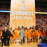 Every Pat Summitt-coached player who completed her eligibility at Tennessee graduated.  Every player. In 38 years. https://t.co/hcKr7HO1X4