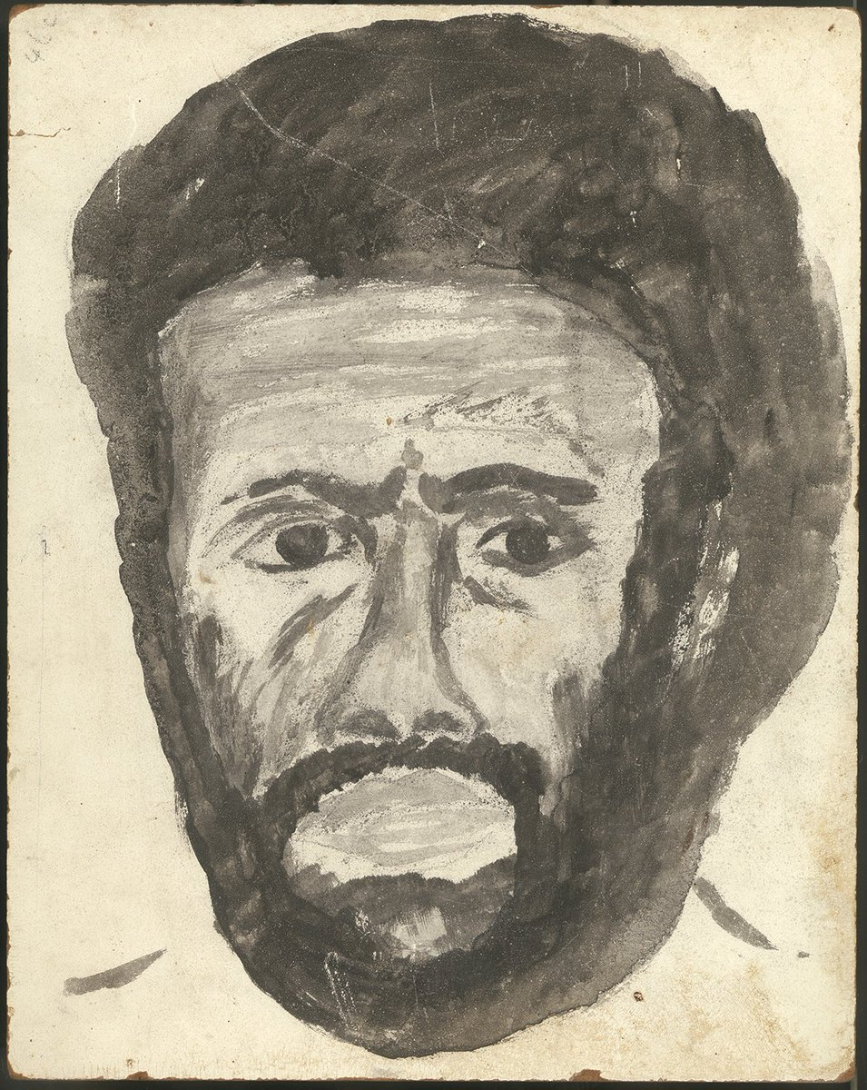 Remembering life and work of Edward Koiki Mabo on his 80th  birthday. Image: Self-portrait, https://t.co/uqBj0qpEVY https://t.co/IZDkJHTyGo