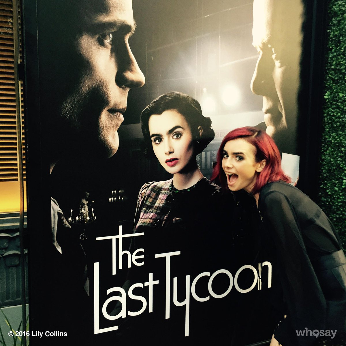 When Celia from the 1930's met Celia from the 21st century #TheLastTycoon... https://t.co/YmHegdo3YP
