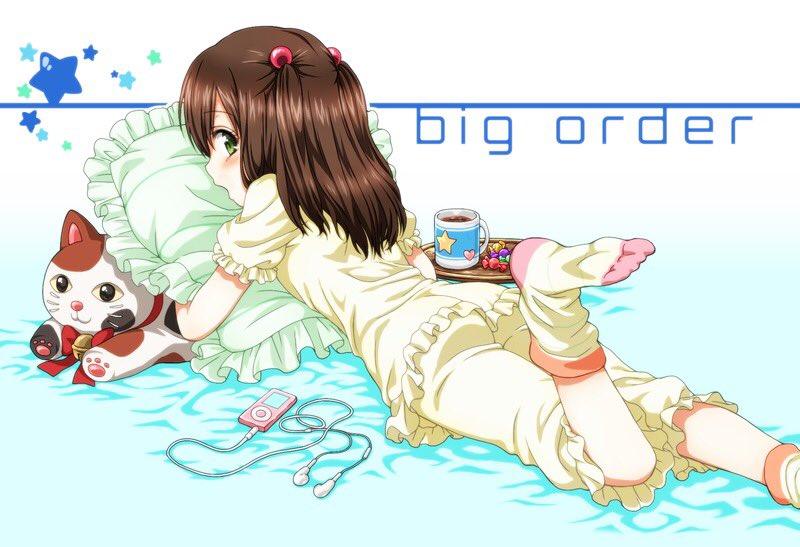 ビッグオーダー(アニメ)の瀬奈ちゃんCVくのちゃんの妹キャラ強い #bigorder