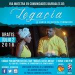 """1ra Muestra en Comunidades Barriales de """"Legacía: La Danza Folclórica Permanece"""" #SantaMarta #CulturaParaTodos https://t.co/y46GOKPbPP"""
