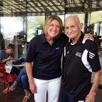 Mr. @NAU, Sam Borozan & @Sue_Darling @NAUAthletics #CoachesCaravan at North Italia Restaurant in #Tucson #NAUStrong https://t.co/D7ic5KZzQo