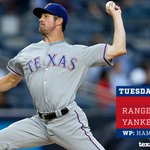 FINAL: Rangers 7, Yankees 1. #LetsGoRangers https://t.co/LRDC1Y8x0G