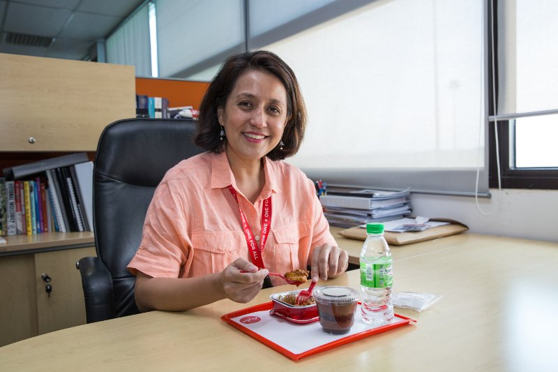 AirAsia M'sia CEO @aireenomar shares her thoughts on our special menu for Hari Raya