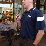 >@NAUBasketballs @NAUcoachMurphy at #Tucson #CoachesCaravan talking hoops. #NAUStrong https://t.co/BylKi1SpaW https://t.co/NG1CnOPprl