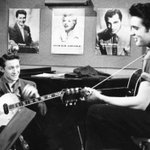 """Keith Richards on Scotty Moore: """"Everyone else wanted to be Elvis, I wanted to be Scotty."""" https://t.co/utBS3pwuFk https://t.co/EXK0tgwfA2"""