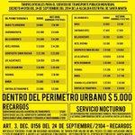 No se deje engañar. Estas son las tarifas de taxis para Santa Marta vía @TransitoStaMta @SantaMartaDTCH @mrafael70 https://t.co/Zh0zwUE7r6