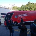 FÚTBOL EN PAZ! Sao Paulo y Santos fueron al estadio en mismo bus para promover paz entre hinchadas https://t.co/KM9ytxTCMv