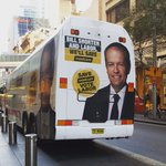 Seeing @billshortenmps #BillBus in Sydney this morning made my day! ❤️ #realchange #savemedicare #ausvotes https://t.co/2LcUSDNFE9