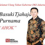 Media Indonesia mengucapkan Selamat Ulang Tahun yang ke-50 Tahun, Pak @basuki_btp #HBD50AHOK https://t.co/XEyVh0DFOZ