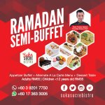 Come for our Ramadan Semi-Buffet @ Tmn Pertama,Cheras. Appetisers,Main Meals,Dessert Table,Drinks! Musolla provided https://t.co/lKdA8VZ6dq