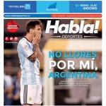 ¡Portada del impreso de mañana! Todo lo que dejó la Copa América Centenario, entrevista con @TeoG29 y mucho más. https://t.co/gdUwlKq6ba