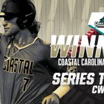 WE ARE HEADING TO GAME 3!!!! Coastal Carolina ties up the #CWS Finals with a 5-4 victory over Arizona! https://t.co/IqNvNW7WWe