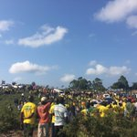 """These useless ANC people went to Sondwana Bay to be told by a racist, """"I'm your King!"""" and they went back home ???????????? https://t.co/elTp1Ey3av"""