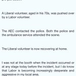 Liberal MP @RussellMatheson and @NSWLabor trade barbs over alleged foul play at #ausvotes booths in southwest Sydney https://t.co/F7SqiSb3dd