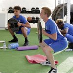 #PoshPreSeason | Heres a few of snaps from the strength and conditioning session in Portugal https://t.co/DUxinfMJFm