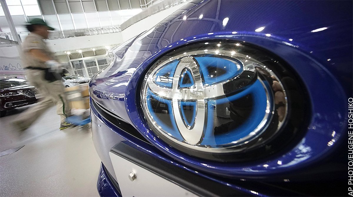 Toyota recalls 1.43M vehicles for defective air bags, says it's not part of Takata recall.