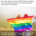 If you want #marriageequality @billshortenmp #FreeVote not @TurnbullMalcolm very long wait #NoPlebiscite #LGBT https://t.co/dt2RVZqQGm