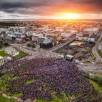 Reykjavík City when Iceland played England 🌟  #EURO2016 #iceland https://t.co/6DBPCeM5aK
