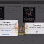 Forbes Philippines Mag featuring our very own AlDub is now available on iTunes. Get urs today!???????? #ALDUBIYAMin14Days https://t.co/vxgwmq1nuN
