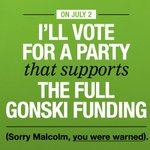 Dont vote for @TurnbullMalcolms cuts to #gonski on July 2nd - our kids deserve better. https://t.co/m9J53QZn8I
