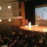 Impresionante el @AUDITORIOMURCIA en el III Congreso sobre Innovación Educativa #Ucoerm_Innova Más de 1500 personas https://t.co/DqFM0SepXA