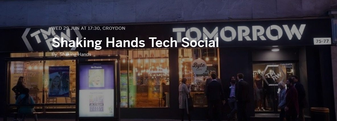 ★ 50% off Adv Guest Tickets @CroydonSHIP's #Tech Social @tmrwhub 5.30pm TONIGHT ► https://t.co/C1Bp0Z1GXF Use ACCEL https://t.co/XUAqVPUeYi