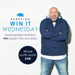#winitwednesday featuring @RealRazor fancy winning this outfit? Just follow us and RT to enter! https://t.co/F3c0PSeNZP