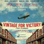 Are you coming to the #Vintage For Victory festival in #Whitchurch #Cardiff next month? https://t.co/UrXl9CJ4Ks https://t.co/KMIwL6B52N