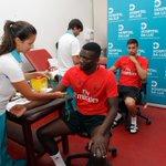 Vários jogadores do plantel fizeram esta manhã os exames médicos! ????#Juntos https://t.co/ae7nWpuDY6