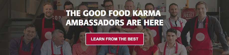 Do you know our Good Food Karma Ambassadors yet? Full of tips, trick and Great Food ideas! https://t.co/ctghsuMNfC https://t.co/N2ePLgTTXs