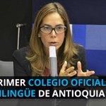 En Antioquia se construiría el primer colegio oficial bilingüe https://t.co/IPbuuiaBjN https://t.co/oUA7FFJaJX