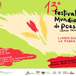 Hoy arranca el 13er Festival Mundial de Poesía en Trujillo, vamos todos a celebrar la vida en este hermoso homenaje https://t.co/WkJZtqdzW8